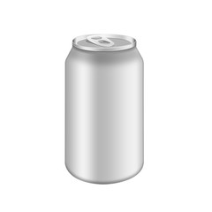 Metal aluminum beverage drink can