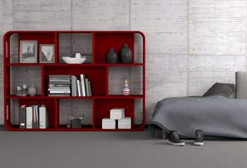 bilder und videos suchen rotes regal. Black Bedroom Furniture Sets. Home Design Ideas