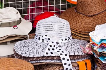 lovely hat in shop