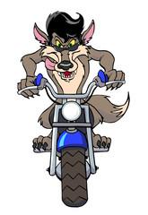 Wolf Motocycle