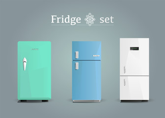 Appliance - Refrigerator set