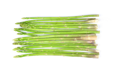 asparagus isolated on a white background
