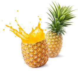 Wall Mural - pineapple juice