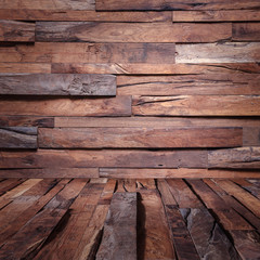 wood wall Industrial background