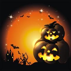 Halloweenhintergrund