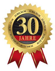 30, Jahre Jubiläum