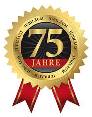 75 Jahre Jubiläum