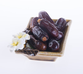 dates isolated on a background