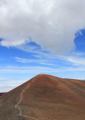 Trail mauna kea hawaii