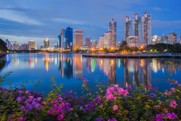 Türaufkleber Bangkok Bangkok thailand public parks