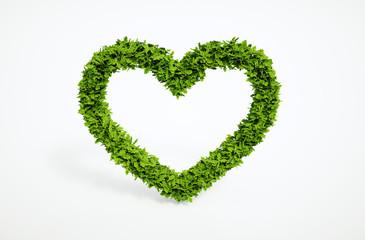 ecology heart symbol