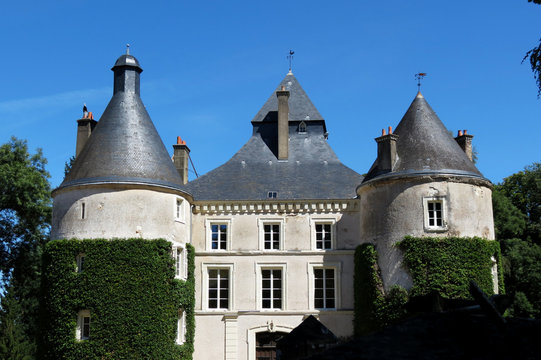 Château d'Entraigues, Indre