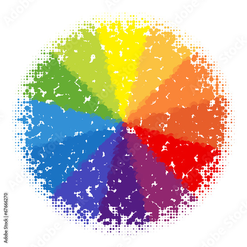 Incredible Color Wheel Stock Image And Royalty Free Vector Files On Interior Design Ideas Tzicisoteloinfo