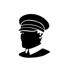 policeman vector silhouette