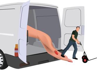 trasporto e consegna