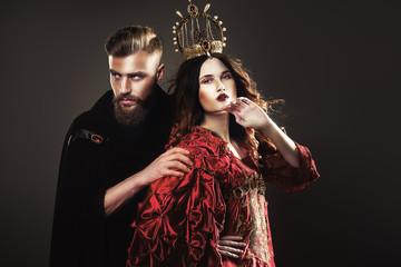 king and queen, beautiful fabulous couple