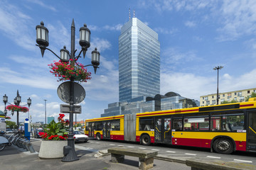 Center of Warsaw - Bankowy Square