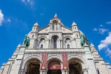 Sacre Coeur Basilica in Paris, France