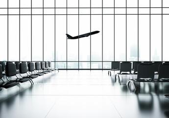 Fotobehang - airport
