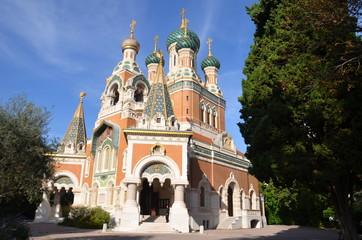 Cathédrale orthodoxe russe Saint Nicolas de Nice