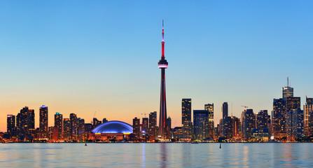 Fototapete - Toronto skyline