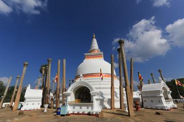 Stupa d'Anuradhapura , Sri Lanka