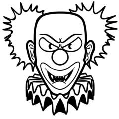 Clown böse gfährlich