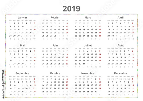French Calendar Stock Image And Royalty Free Vector Files On