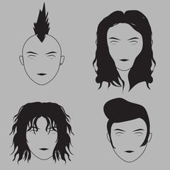 Musician Hair