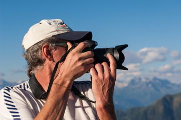 fotografo montagna