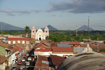 Eglise à Leon, Nicaragua