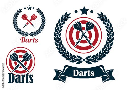 Darts Logo Stock Photos And Images  123RF