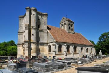 France, the picturesque village of Nucourt