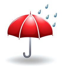 A rainy weather