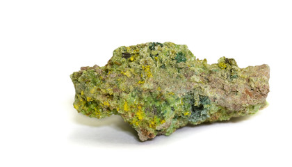 3 Uranium minerals (see 1st 3 keywords) from Zaire. 3.8cm across