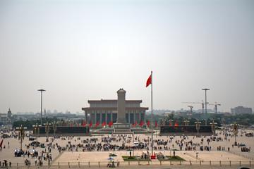 Fotobehang Beijing Tiananmen Square, Beijing, China