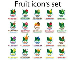 Fruit icon 's set type 2