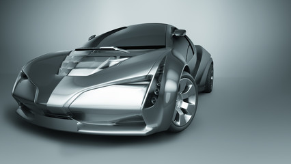 Fotomurales - concept sport car
