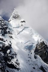 Jirishanca Peak in Cordiliera Huayhuash