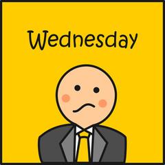 Wednesday en la oficina