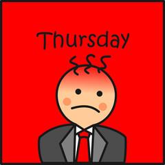 Thursday en la oficina