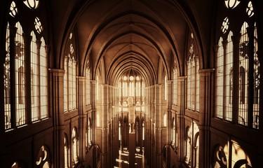 Fototapeta Chiesa cattedrale gotica obraz
