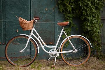 Retro vintage lady bicycle