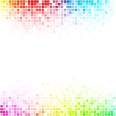 Fototapeta kolorowa mozaika tło wektor