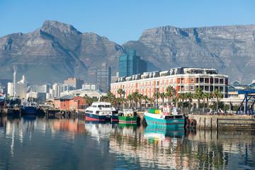 La ville du Cap en Afrique du Sud