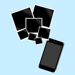 smart phone images vector background