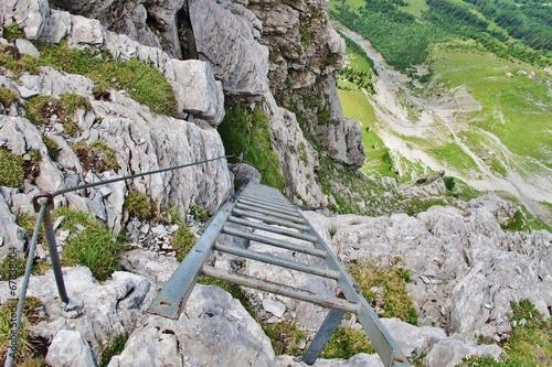 Klettersteig Tälli : Klettersteig tälli