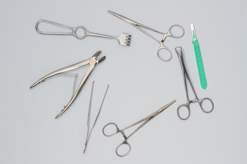 Surgical instruments.