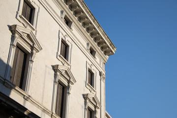 Architecture of renaissance in Ferrara