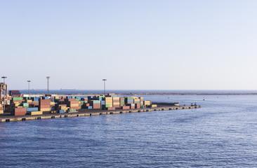 Container terminal in Alexandria
